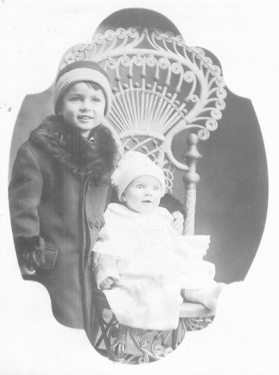 Kenneth left and Doyle right, 191 7