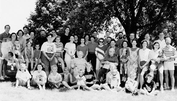 Jones/Cloud/Junod Family Reunion Summer 1993