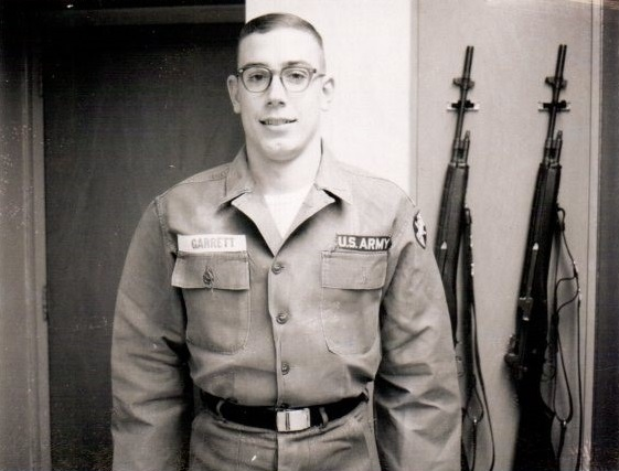 Craig in Fatigues, Plebe Year, 1965