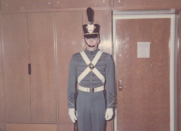 Craig in Full Dress Uniform, Spring 1967