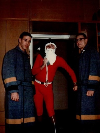 Christmas 1966, left Duffy, Watson, and Garrett