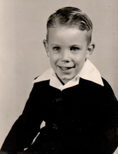 Craig Garrett, Formal Picture About 1954, Pleasantville, Iowa Woltz Photographers, Des Moines, Iowa