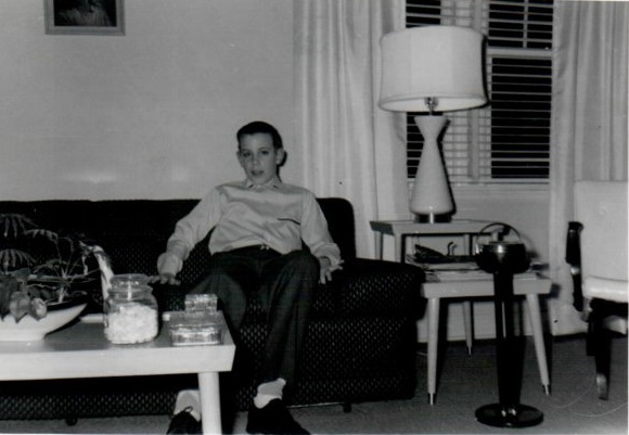 Craig about 1959, note furniture