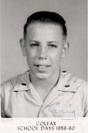 Craig Seventh Grade 1959-1960