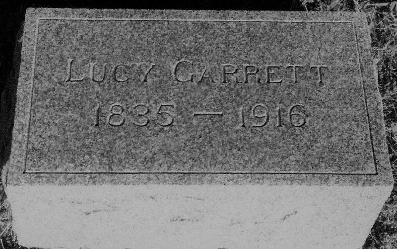 Lucy Coleman Garrett Cemetery Marker