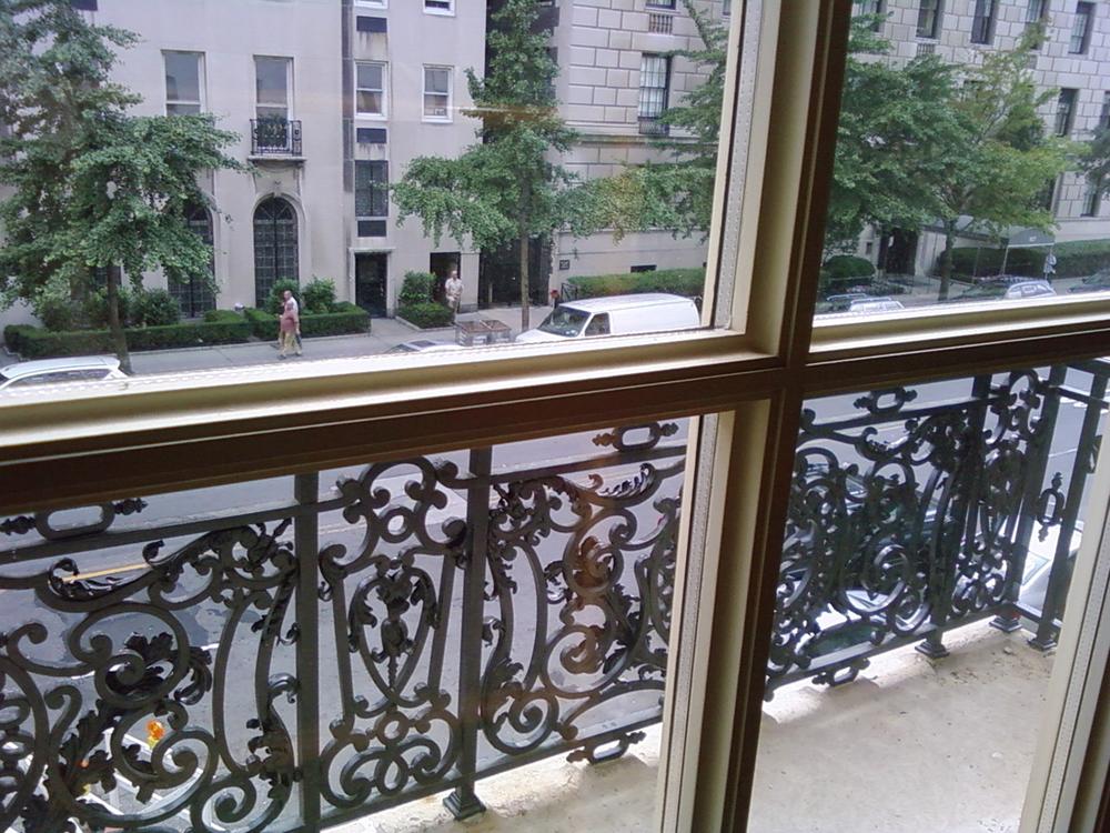 Baroque Balcony Railing, NYC