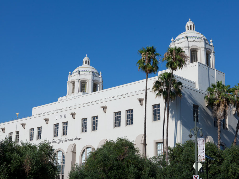 Designed 1938 by Gilbert S. Underwood.