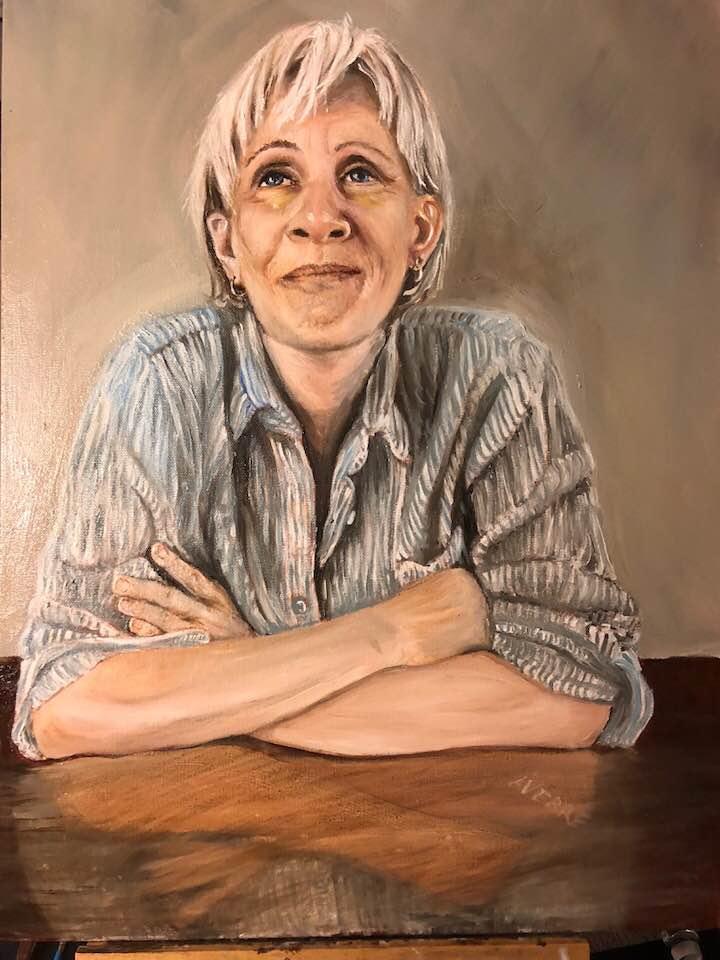 Suzanne. Oil 16 x 20