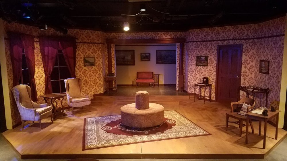 The Heiress , Wise Fool Shakespeare, Duluth, MN -- scenic design