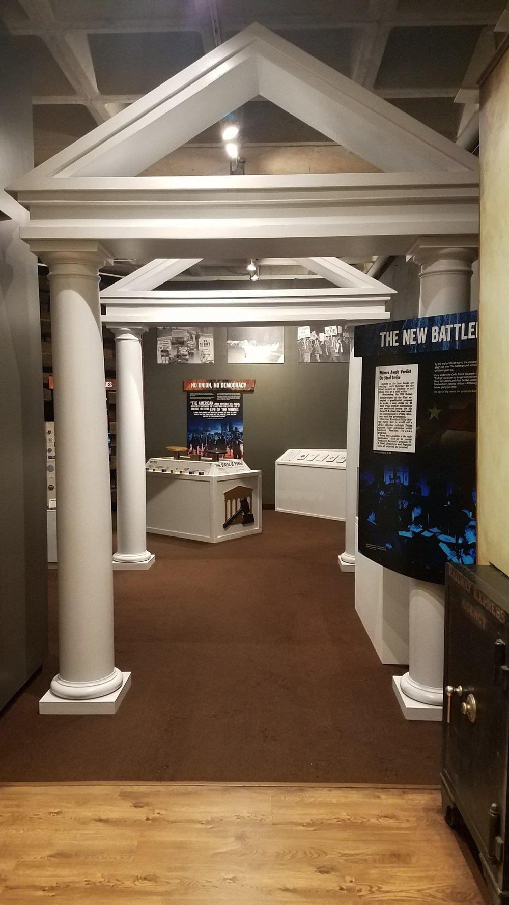 Copy of Blue Collar Battleground exhibit
