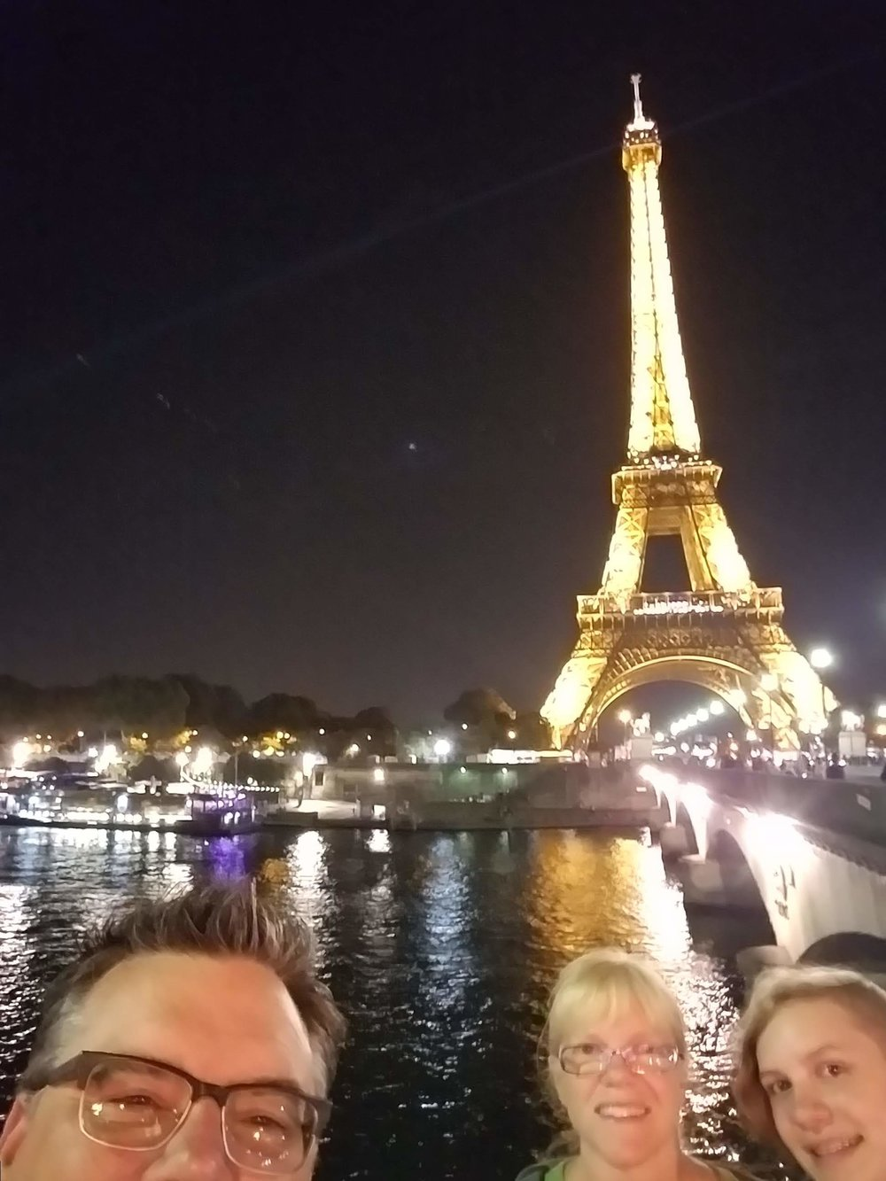 And no unplanned (but welcome) overnight in Paris would be complete without a walk to one of the world's most dramatic monuments, the Eiffel Tower.