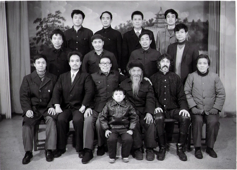 #1 Student, 2nd Row, 2nd from left (with hat)