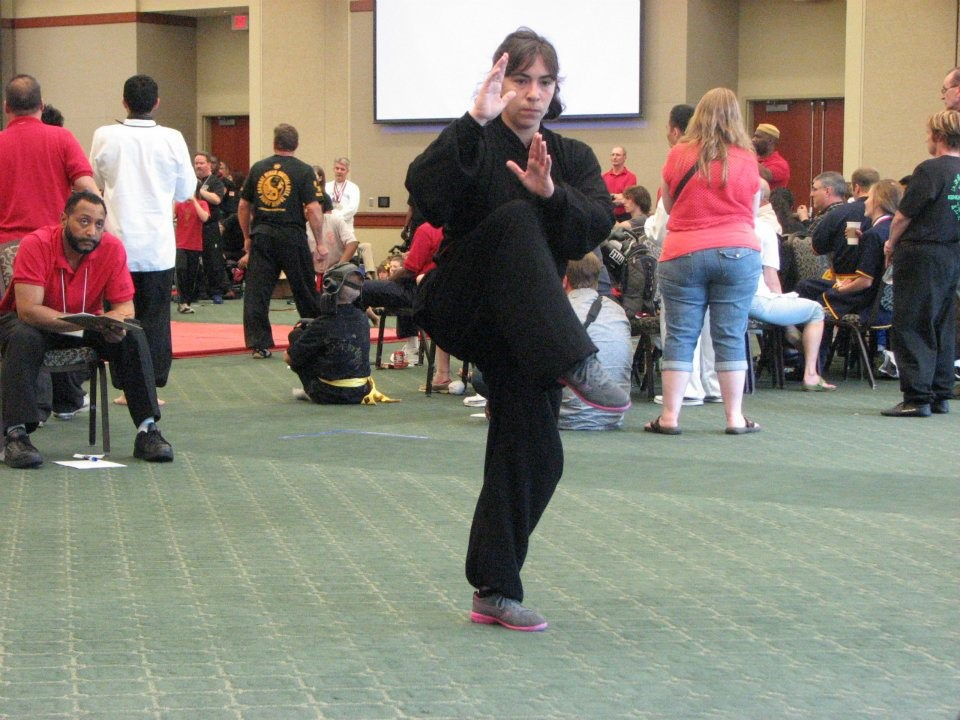 Wudangshan 108 Taiji Quan (Placed First in Open Hand)