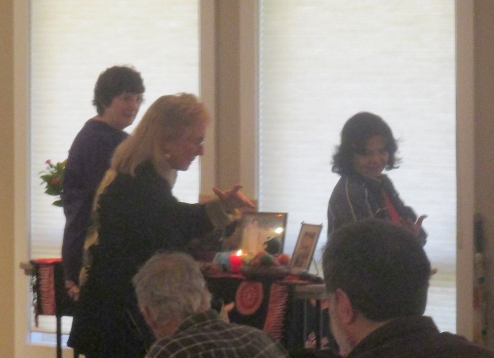 Kathleen leading Yang