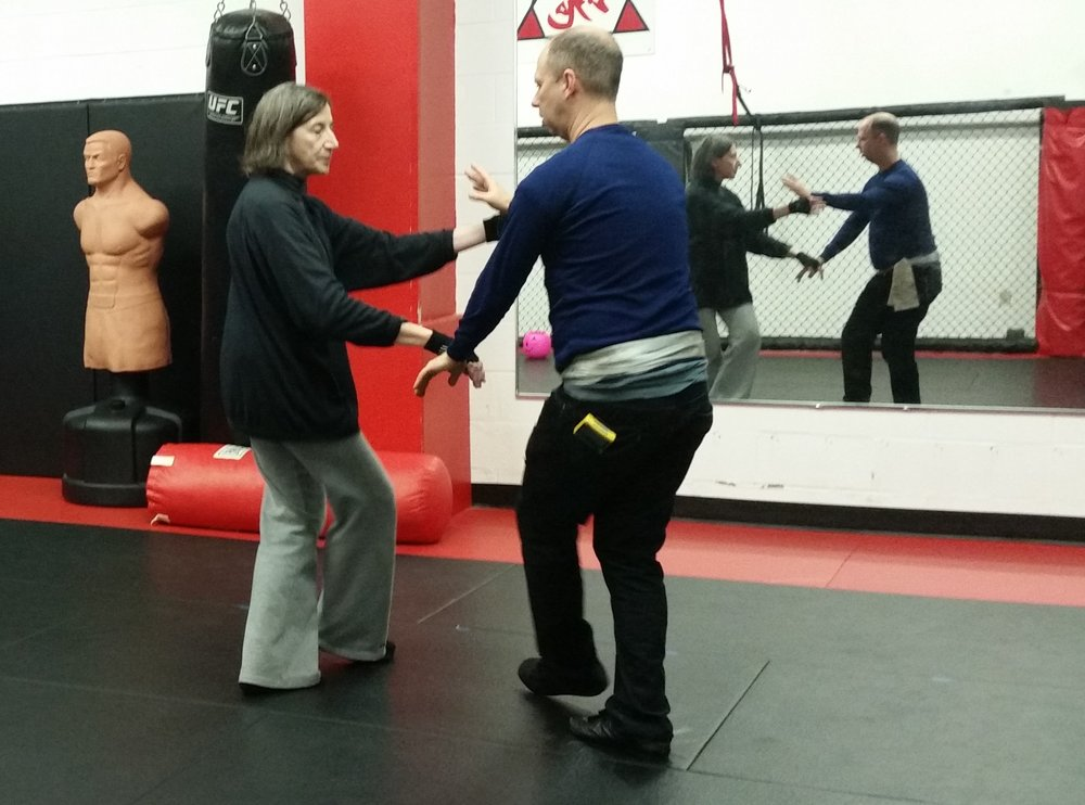 tai chi push hands durahm
