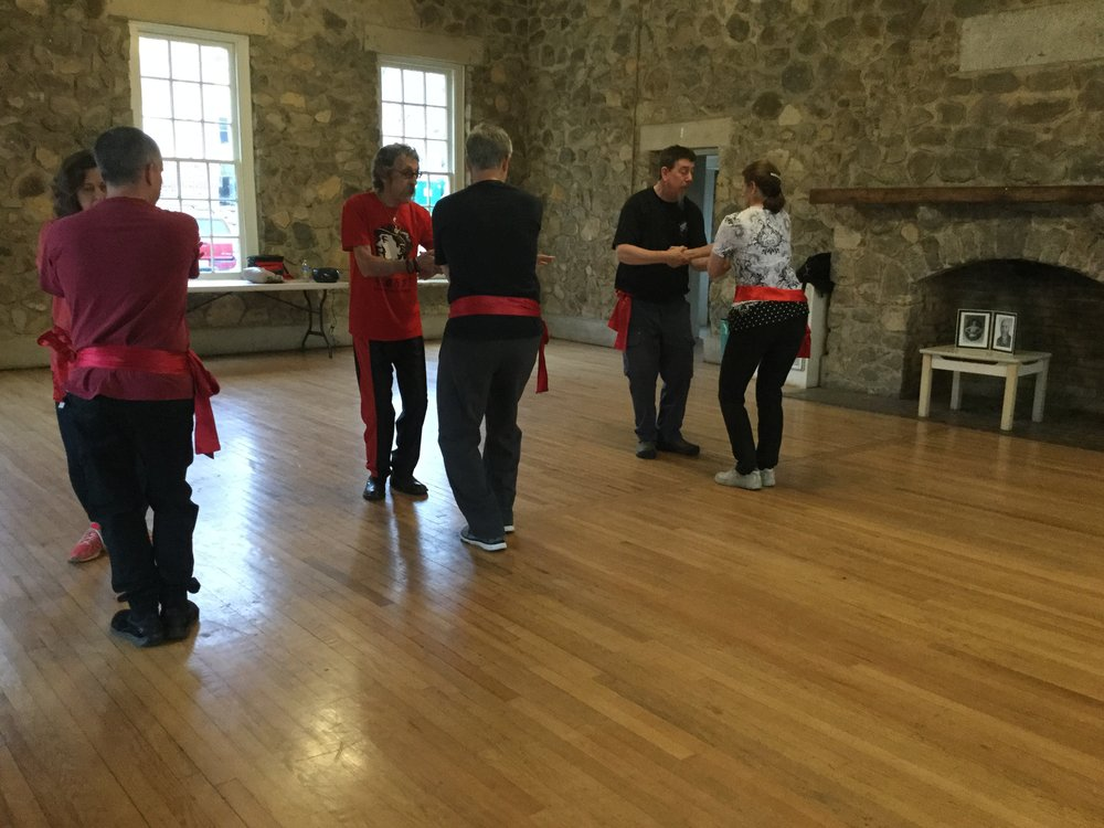Tai chi Push hands workshop