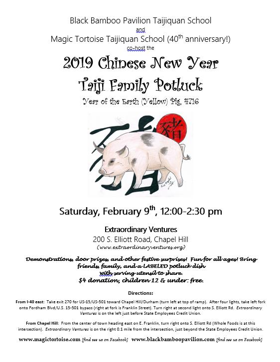 Earth Pig Taiji party