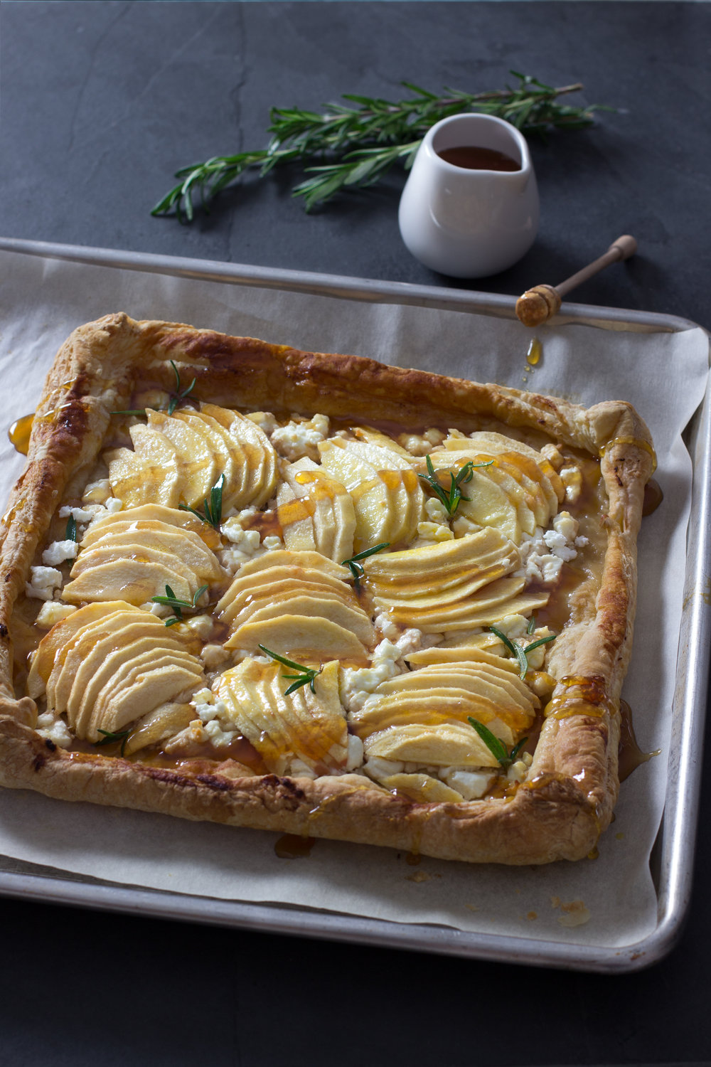 Apple, Chevre, and Honey Puff Pastry Tart.jpg