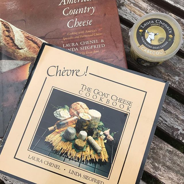 Looking back at some great 🧀 cookbooks written by our namesake founder. One is just on Chèvre while the other includes a terrific selection of American cheese! #tbt #goatcheese #americanoriginals #americancheesemonth