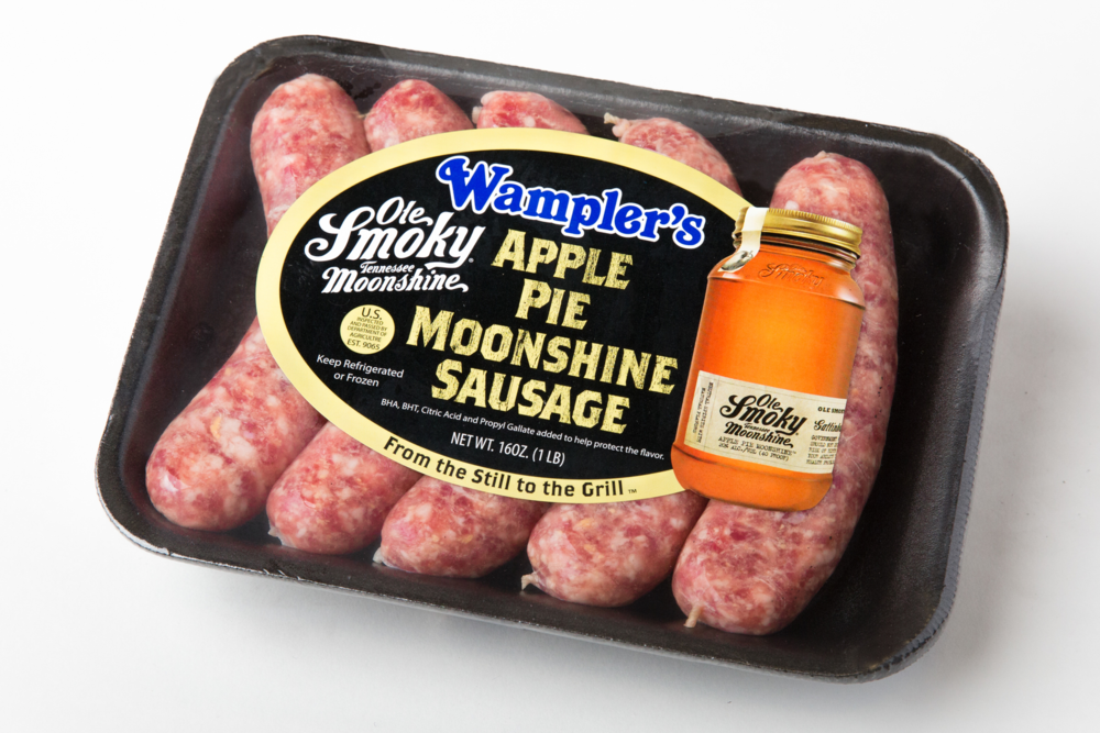 Wampler's Ole Smoky Moonshine Apple Pie Sausage