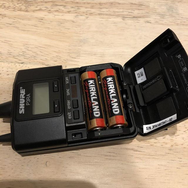 Fresh batteries for the show tomorrow @pyramidschemegr it's almost sold out, so get tickets before it is to late! Also @costco we love you, and your batteries ❤️