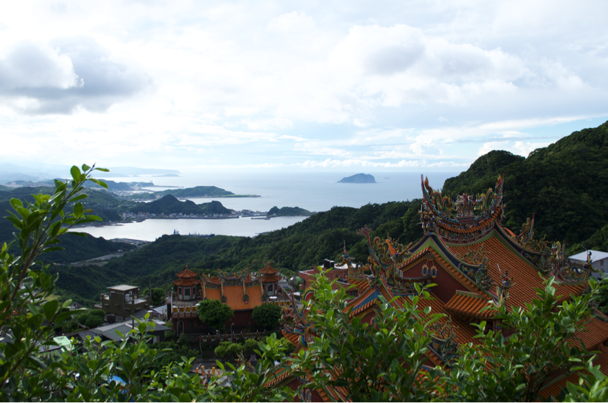Photo taken near the dropoff point during my trip to Jiufen