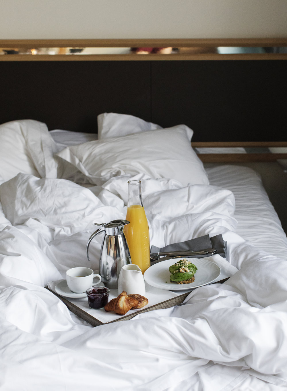 Alona Vibe Photography Skodsborg Kurhotel Spa retreat breakfast in bed