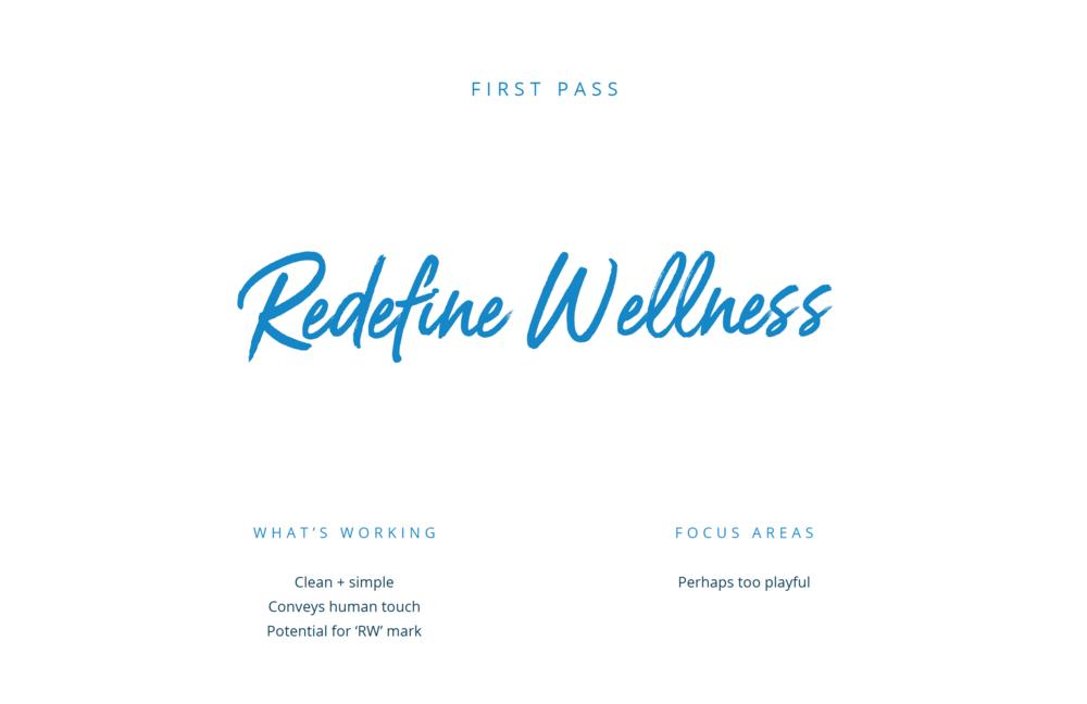 RW_FirstPass