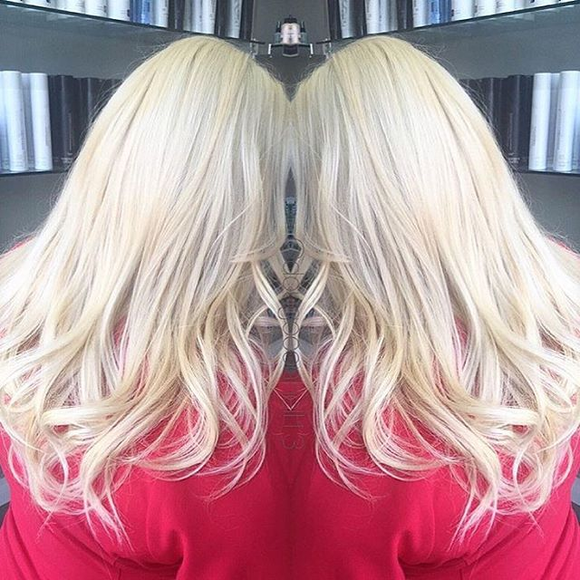 Hair by Doug @dougoconnell13 // Ice queen 🎨💎 #hair #haircut #hairking #hairlove #hairporn #hairpost #haircolor #hairstyle #hairtip #hairbydoug #hairbrained #hairstylist #balayage #balayagecolor #ombre #ombrehair #salon5150 #brea #trim #healthy #long #beautiful #modernsalon #btcpics #behindthechair #dougoconnell #angelofcolour #hairdressermagic #americansalon ™@dougoconnell13