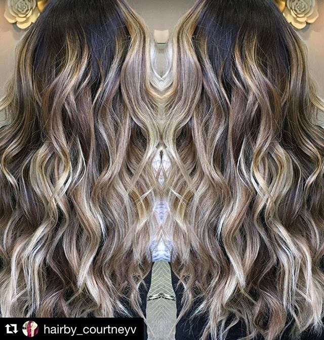 Hair by Courtney @hairby_courtneyv // #Repost @hairby_courtneyv with @repostapp ・・・ Did a full head of balayage on @fashionista_oc today! 😍#balayage #balayagehighlights #balayagehair #balayagehaircolor #salon5150 #hair #haircolor #avedahaircolor #hairbrained #hairgasm #hairpainting #newhair #hairpost #hairporn #babylights #modernsalon #hairlove #hairofig #hairpics #colormelt @salon5150 #hairlove #ochairstylist #hairgoals #hairinspo #follow4follow #hotonbeauty #balayagedandpainted #breahairstylist