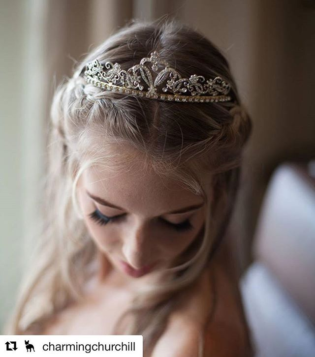 Hair by Salon 5150 // #Repost @charmingchurchill with @repostapp ・・・ Every bride deserves to feel like a princess! Photography by @melvingilbertphoto