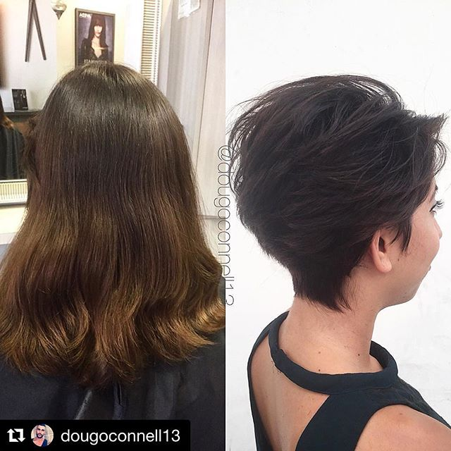 Hair by Doug @dougoconnell13 // #Repost @dougoconnell13 with @repostapp ・・・ Makeover ✂️✂️ #hair #haircut #hairking #hairlove #hairporn #hairpost #haircolor #hairstyle #hairtip #hairbydoug #hairbrained #hairstylist #balayage #balayagecolor #ombre #ombrehair #salon5150 #brea #trim #healthy #long #beautiful #modernsalon #btcpics #behindthechair #dougoconnell #angelofcolour #hairdressermagic