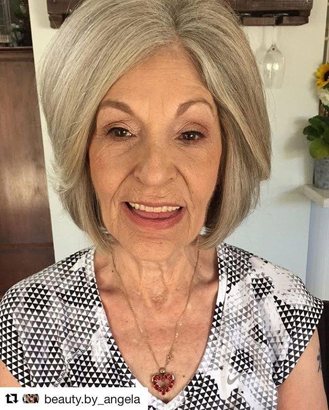 Make up by Angela @beauty.by_angela // #Repost @beauty.by_angela with @repostapp ・・・ ✨ Grandmas deserve pampering too✨ #happymonday #beautybyangg #salon5150 #weddingmakeup #grandmaofthebride #makeup @salon5150