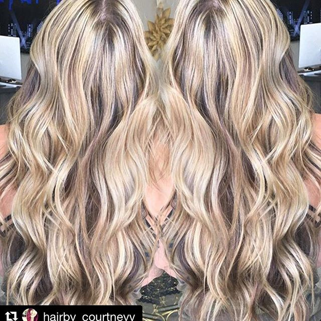 Hair by Courtney @hairby_courtneyv // #Repost @hairby_courtneyv with @repostapp ・・・ Rooty blonde on @mmv1391 today! #balayage #balayagehighlights #balayagehair #balayagehaircolor #salon5150 #hair #haircolor #avedahaircolor #hairbrained #hairgasm #hairpainting #newhair #hairpost #hairporn #babylights #modernsalon #hairlove #hairofig #hairpics #colormelt @salon5150 #hairlove #ochairstylist #hairgoals #hairinspo #follow4follow #hotonbeauty #balayagedandpainted #breahairstylist