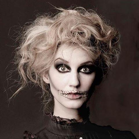 Halloween Hair and Makeup! Schedule today at Salon 5150 714-256-9225 #halloweenready #hair #makeup #salon5150