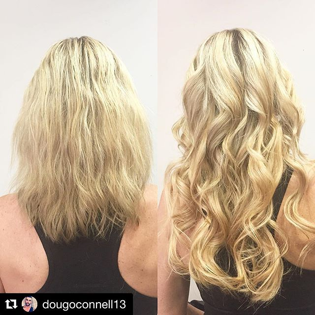 Hair by Doug @dougoconnell13 // #Repost @dougoconnell13 with @repostapp ・・・ Before and after on my client using @cinderellahairextensions for length and fullness! Color not done by me. #hair #haircut #hairking #hairlove #hairporn #hairpost #haircolor #hairstyle #hairtip #hairbydoug #hairbrained #hairstylist #balayage #balayagecolor #ombre #ombrehair #salon5150 #brea #trim #healthy #long #beautiful #modernsalon #btcpics #behindthechair #dougoconnell #angelofcolour #hairdressermagic