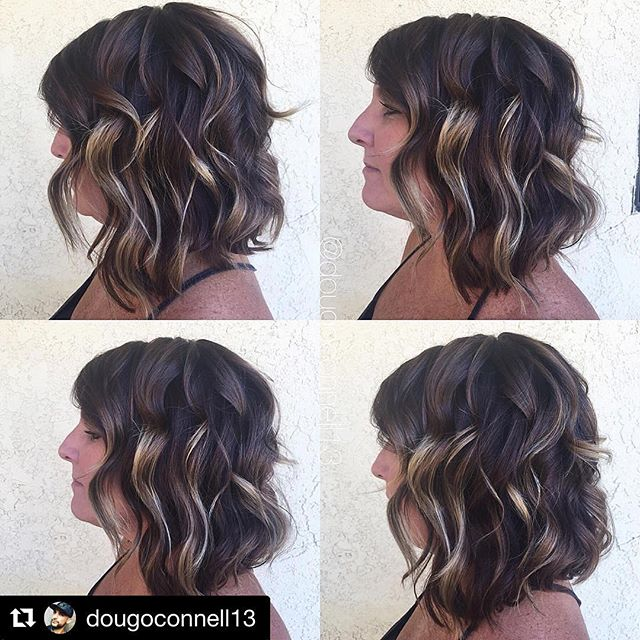 Hair by Doug @dougoconnell13 // #Repost @dougoconnell13 with @repostapp ・・・ Gave my mom a little makeover today 🎨✂️🎨 #hair #haircut #hairking #hairlove #hairporn #hairpost #haircolor #hairstyle #hairtip #hairbydoug #hairbrained #hairstylist #balayage #balayagecolor #ombre #ombrehair #salon5150 #brea #trim #healthy #long #beautiful #modernsalon #btcpics #behindthechair #dougoconnell #angelofcolour #hairdressermagic