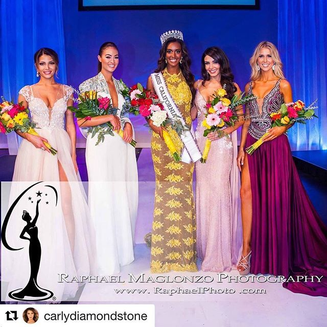 Hair by Salon 5150 // #Repost @carlydiamondstone with @repostapp ・・・ Sharing this stage with the other 130 gorgeous, accomplished, incredibly ambitious young women competing for the title of Miss California USA 2017 was truly an honor, and although I did not walk away with the crown this year, I feel grateful to have placed 3rd RU.  When they say it takes a village, it truly does! A huge thank you to the village who helped in my preparations @lisagartistry @giselleboone @john_benton_model_fitness @jillkayebentley @cassieavink @veroniquemunro @infinitysuncorp @missalextarin @pageantology101 @thesusiecastillo @shandifinnessey @prevueformalandbridal @caitlin.m.fitz @devin_fitz @mrvinny @peterphengyoung @keyleestyle @pageantsmart @pageantrocks @galialahav @themetromd @skinbylovely @dougoconnell13 @salon5150 @nonapitts @b.allen__ @lockethairextensions. And thank you to @pamepi1, Alex, and all the @misscausa staff who put on the most amazing and fun production yet! Looking forward to cheering you on at @missusa India!👑💗💕 (Photo by @raphaelmaglonzo)