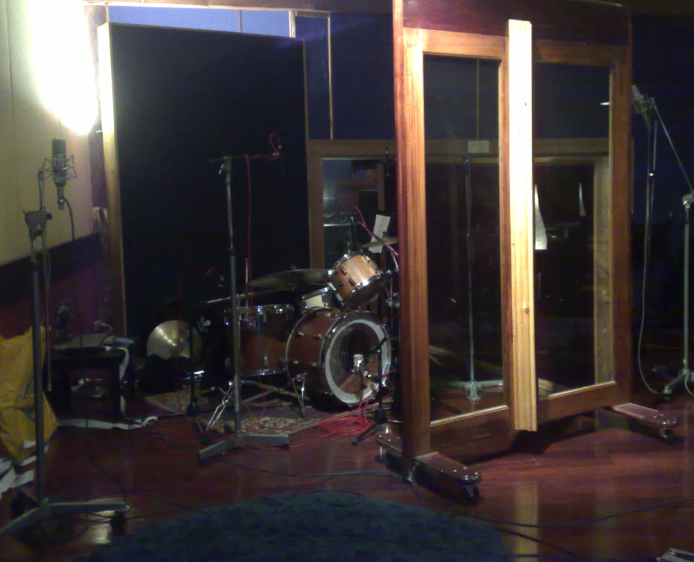 Recording The Verses' EP at Sing Sing Studios Melbourne.