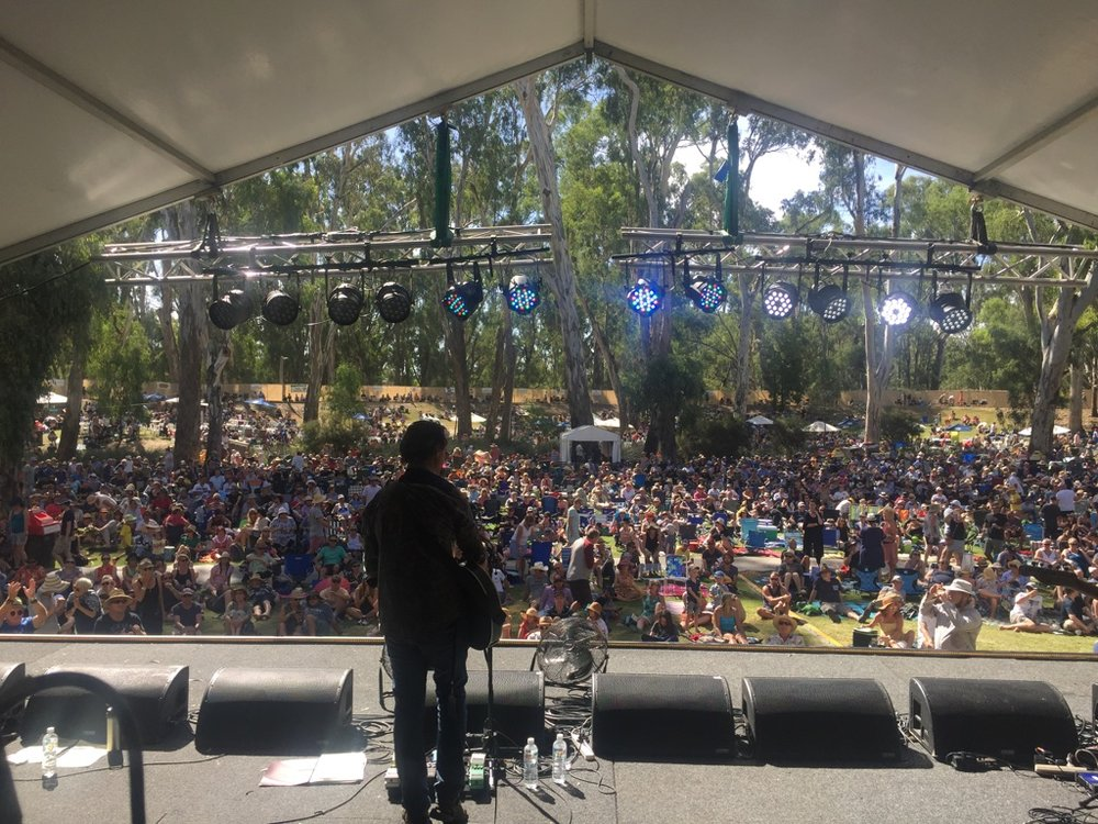 Another Riverboats Festival by the river in Echuca, this time with one of Australia's most renowned singer/songwriters; Neil Murray.