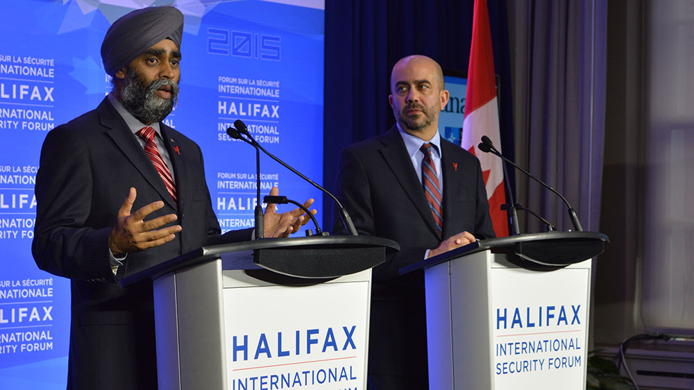 ISIS and Syrian refuges crisis dominate talks at Halifax International Security Forum