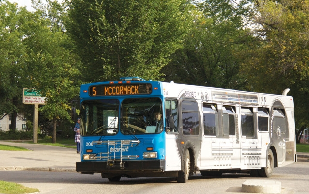Transit lockout continues to challenge U of S students. Photo: Katherine Fedoroff