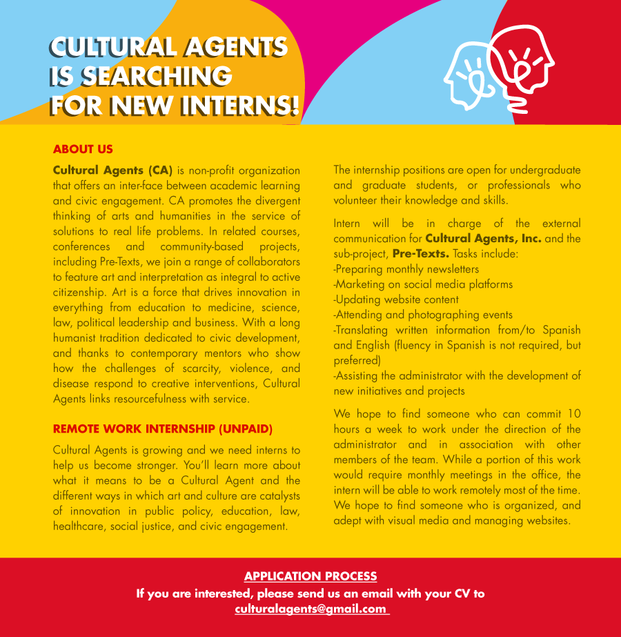 internships cultural agents click on the points below to internships around the world