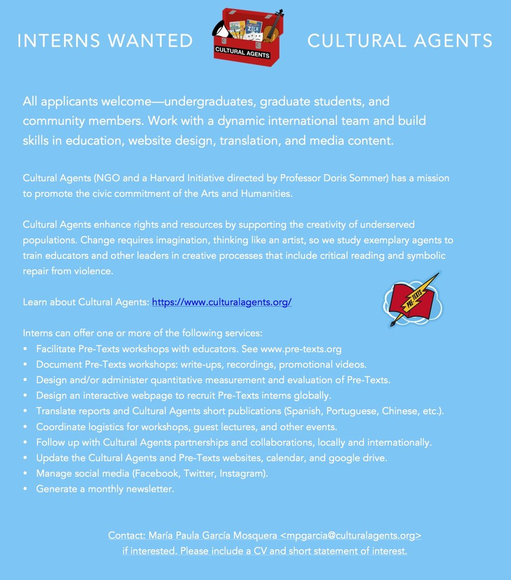 INTERNS WANTED FOR CULTURAL AGENTS.jpg