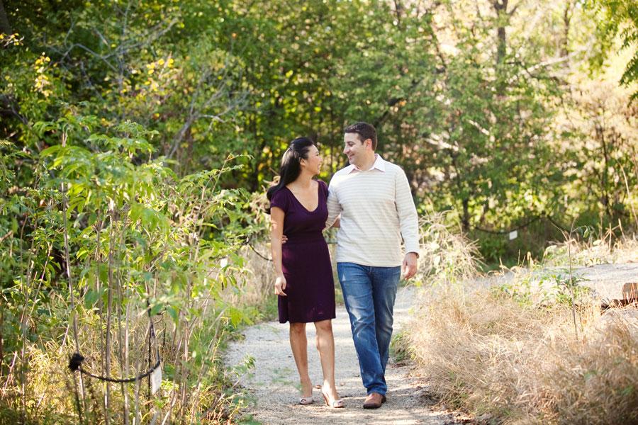 lincoln park engagement photo