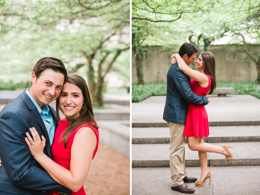 Art Institute Engagement Photography