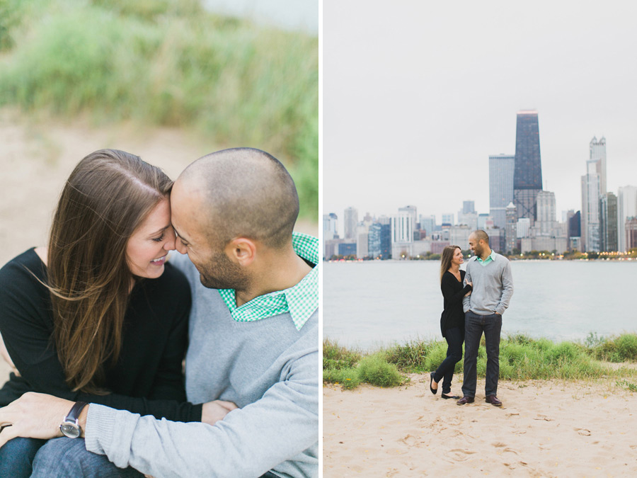 013-chicago-north-avenue-beach-engagement-photo
