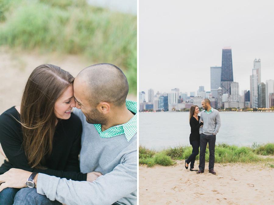 013-chicago-north-avenue-beach-engagement-photo