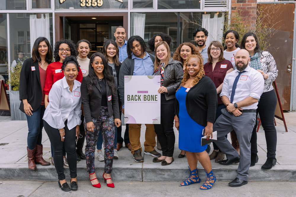 Here I'm joined by a phenomenal intersectional team of attorneys, mediators, and diversity and inclusion experts for Backbone: Courage for a Changing Workplace. A recent bombilla creative production for my client, Racy Conversations!