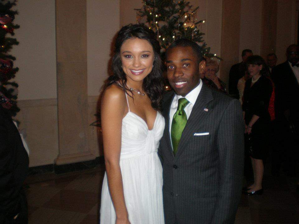 White House Christmas Party w/ Rachel Smith (Miss USA)